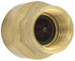 Brass Inline Check Valves feature guided-disc technology.