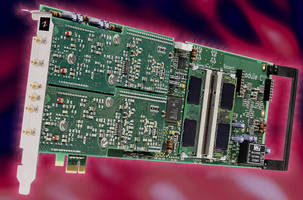 Digitizer Cards are designed for PCIe applications.
