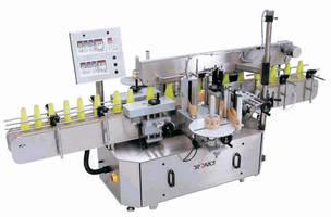 Label Applicator handles range of package types/sizes.