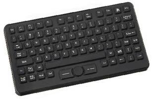Compact Wireless Keyboard carries NEMA 4X rating.