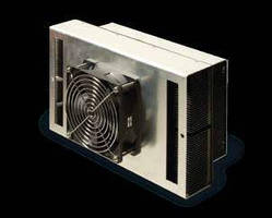 Thermoelectric Cooler features low profile design.