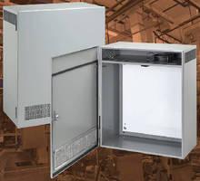 Vented Indoor Enclosure protects heat-sensitive controls.