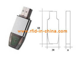 RFID Reader features USB interface.