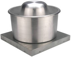 Exhaust Fans direct air away from building roofs and walls.