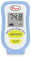 Thermocouple Thermometer has compact design.