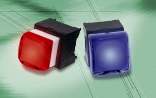 Illuminated Pushbutton Switch works for 200,000 cycles.