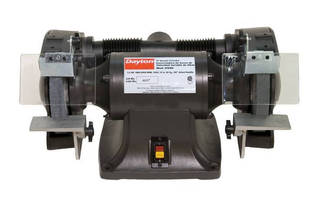 The Smooth Quiet, Power of the Dayton Industrial Bench Grinder