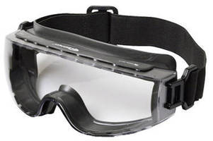Goggles protect eyes against splashes, dust, and impact.