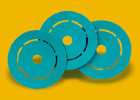 Nesting Pads protect discs during printing.