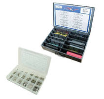 Assortment Kits organize electrical components and fasteners.
