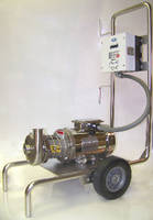 Pump Dolly features full 304 stainless steel construction.