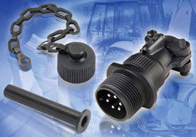 Commercial Mil C Style Connectors offer protective end caps.