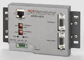 Absolute Encoder Interface enhances motion controllers.