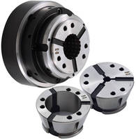 Vulcanized Collet Heads can be interchanged in seconds.