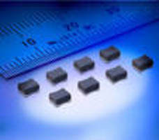 Wire-Wound Power Inductors offer low-profile, high current.