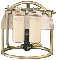 Drum-Top System filters recirculated and transferred fluids.