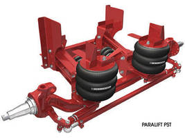 Steerable Lift Axle promotes weight savings and flexibility.