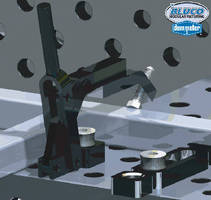 Clamps provide 2,100 lb of clamping force.