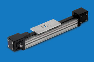 Linear Actuator delivers velocities up to 200 ips.