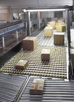 Conveying System takes up minimum amount of floor space.