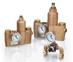 Thermostatic Mixing Valves feature lead-free design.
