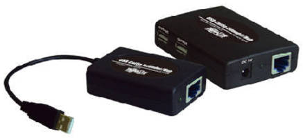 USB Over Cat5 Extender Hubs offer plug-and-play operation.