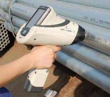 Handheld XRF Analyzer utilizes 4 kV x-ray tube technology.