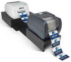 Foil Imprinting System applies film to inkjet-printed labels.