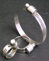 Worm Gear Clamps are manufactured in SAE sizes 4-36.