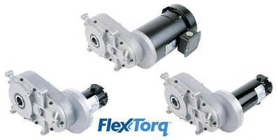 DC Gearmotors fit into tight spaces.