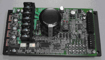 Amplifier/Controller features 4-quadrant design.