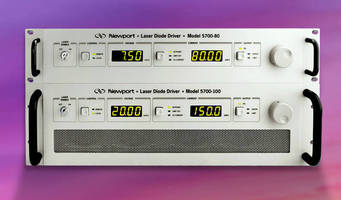 High-Power Laser Diode Drivers are offered in 4 models.