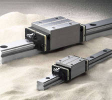 Linear Guides withstand contaminated environments.