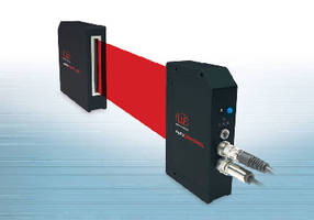 Laser Micrometers offer independent linearity of 0.2%.