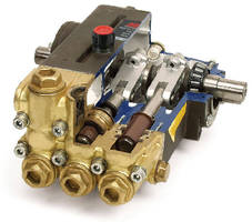 High-Pressure Pumps feature nested seal technology.