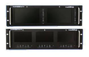 Rack Mount Monitors offer 16:9 aspect ratio LCD screens.
