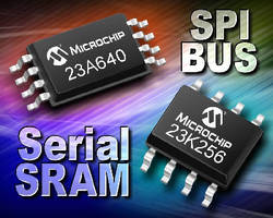 Serial SRAM Devices add RAM to various applications.