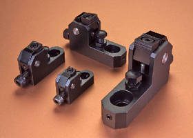 Side Clamps Provide Superior Tool Access to Workpieces & Secure Hold