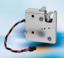 Rotary Latch provides electronic access.
