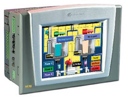 PLC/HMI features white LED backlight.
