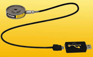 Donut Load Cell features USB output.