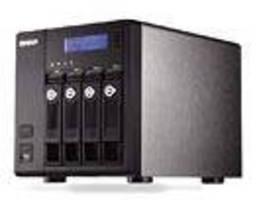 Quad-Bay NAS is powered by Intel Atom processor.