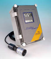 Level Controller utilizes non-contacting ultrasonic sensor.