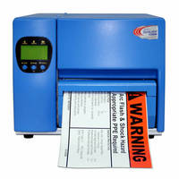 Printer is suited for industrial signs and labels.