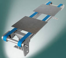 Dual-Belt Conveyor addresses solar industry requirements.