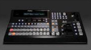 Portable HD/SD Mixer offers 1ME and full preview operations.