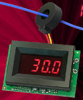 True-RMS AC Ammeters scale and display output of 5 A CTs.