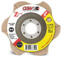 Abrasive Discs incorporate transparent grinding zone.