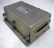 Booster Amplifier suits military/commercial applications.