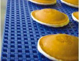 Cooling Belt suits conveyors in food applications.